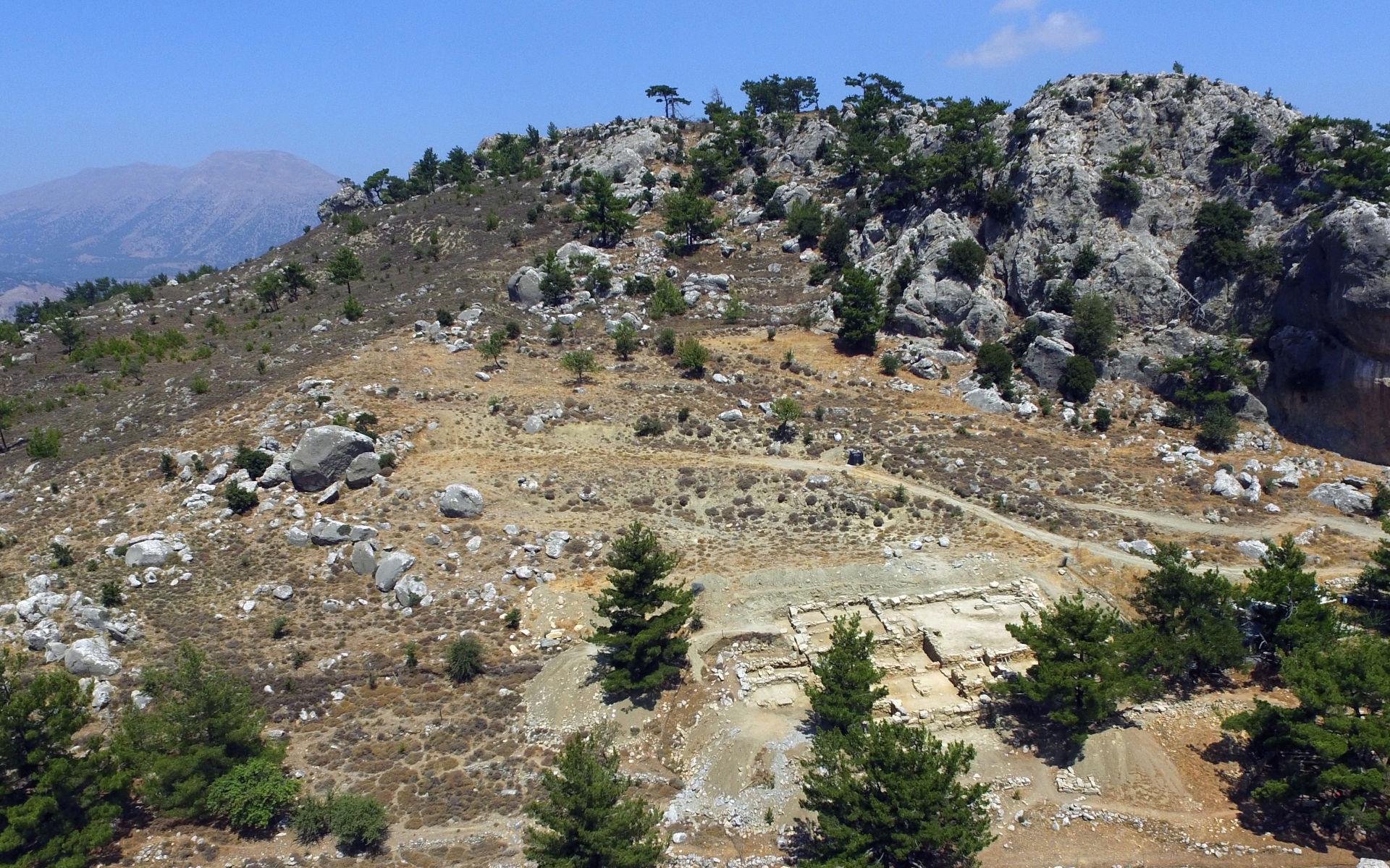 Neopalatial building at Gaidourophas